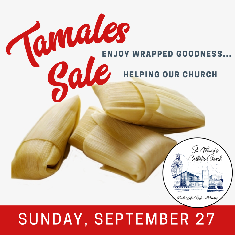 St. Mary's Church Tamale Sale