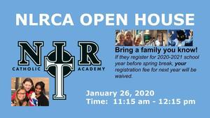 Open House January 26