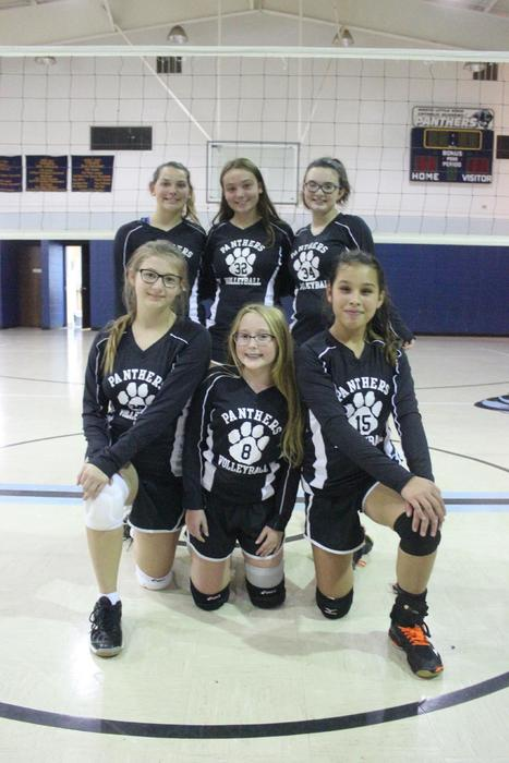 7th and 8th Grade Volleyball Girls