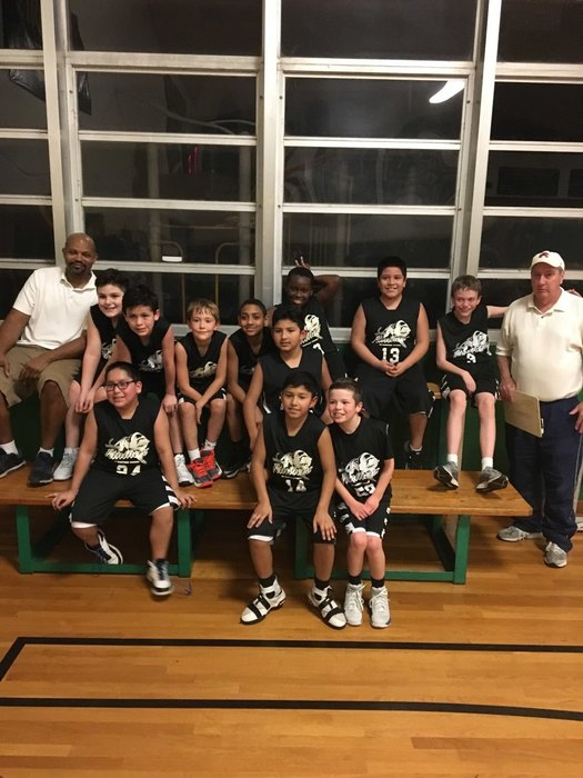 5th Grade Team After Their Big Win!!!